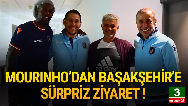 Mourinho'dan Başakşehir'e sürpriz ziyaret !
