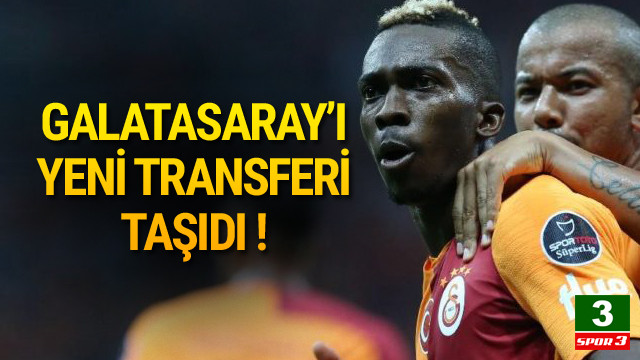 Galatasaray'ı yeni transferi taşıdı !