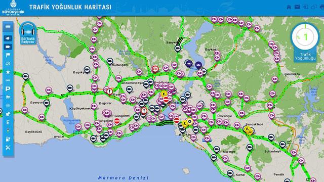 İstanbul'da şaşkına çeviren görüntü !