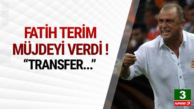 Fatih Terim'den taraftara transfer müjdesi !