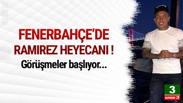 Fenerbahçe'de Cristian Ramirez heyecanı