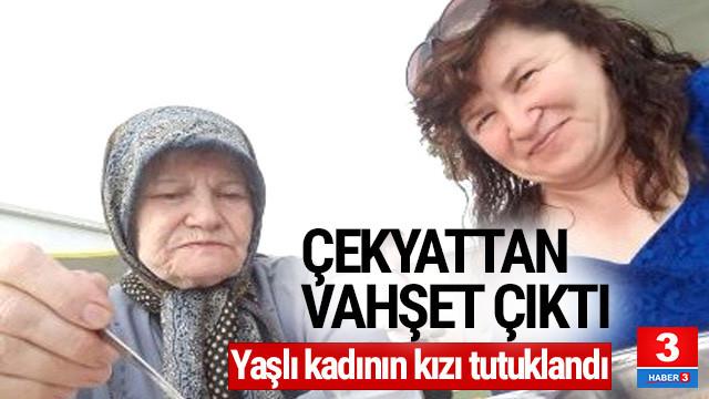 Çekyatta cesedi bulunan kadının kızı tutuklandı