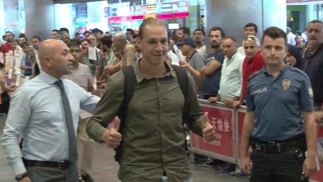 Michael Frey İstanbul'a geldi !