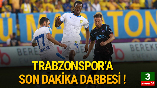 Ankaragücü - Trabzonspor: 2-2