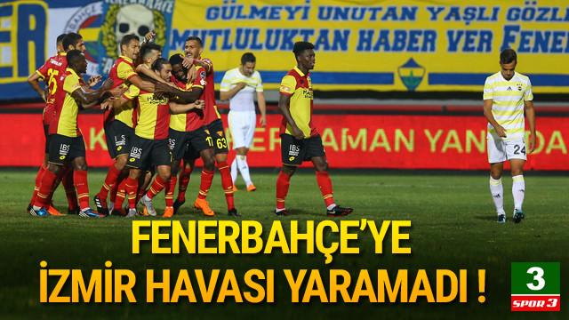 Fenerbahçe İzmir'den de çıkamadı !