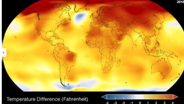 NASA duyurdu: 120.000 yılın en sıcak aylarını yaşadık