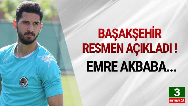 Başakşehir, Emre Akbaba'dan vazgçti !