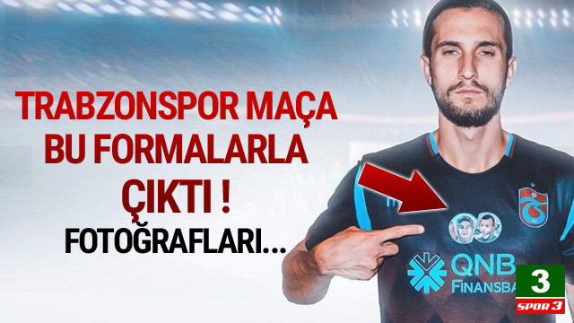 Trabzonspor'dan duygulandıran hareket...