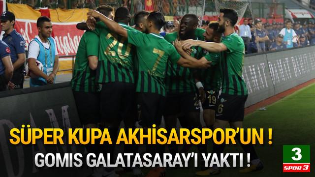Süper Kupa Akhisarspor'un !