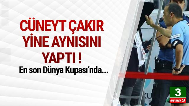 Cüneyt Çakır yine karar değiştirmedi !