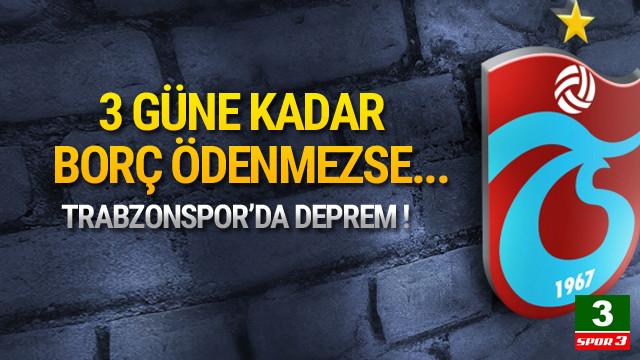 Trabzonspor'da lisans şoku !