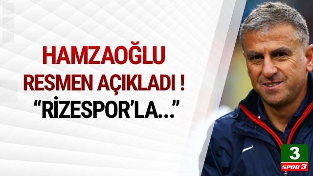 Hamza Hamzaoğlu'ndan Rizespor açıklaması