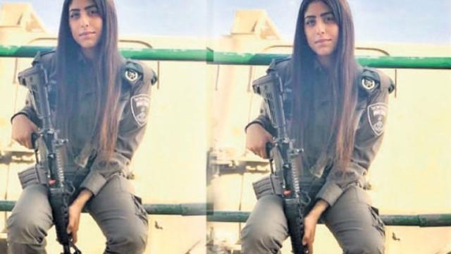 Şanlıurfalı genç kız İsrail ordusuna katıldı