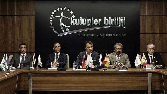 Kulüpler Birliği'nden Türk Lirası açıklaması