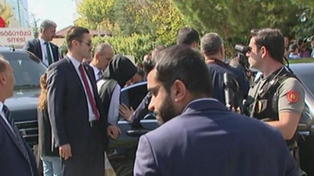 Cumhurbaşkanı Erdoğan sesini duyunca aracı durdurdu