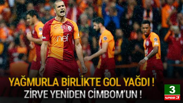 Galatasaray zirveyi kaptı !