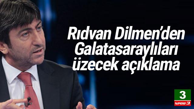 Rıdvan Dilmen: Galatasaray'ın bu kadrosu şampiyonluk için yetmez