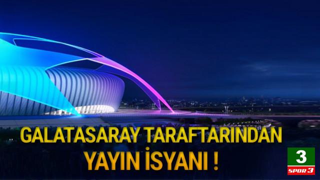Galatasaray taraftarından yayın isyanı !