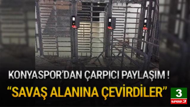 Konyaspor'dan çarpıcı paylaşım !