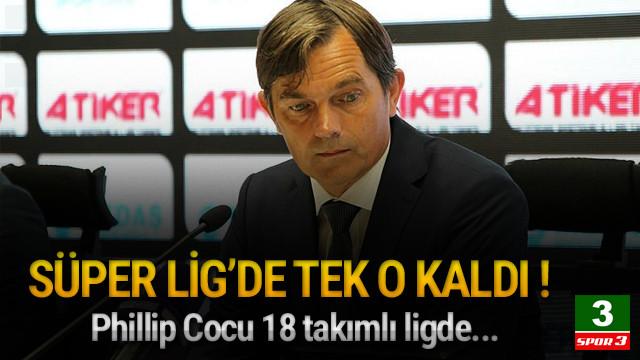 Süper Lig'de tek yabancı Cocu !