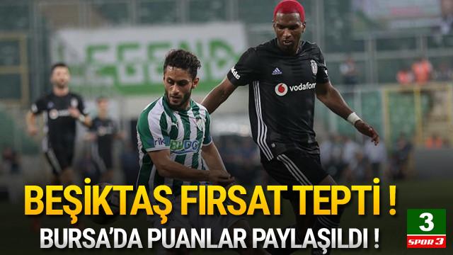 Beşiktaş da modaya uydu ! Bursa'da 2 gol...