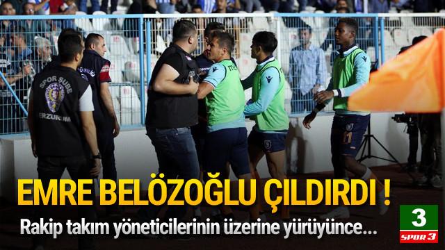 Emre Belözoğlu çıldırdı !