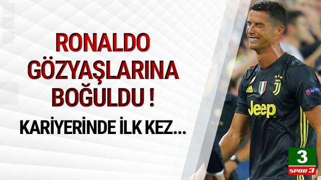 Ronaldo'dan kariyerinde bir ilk !