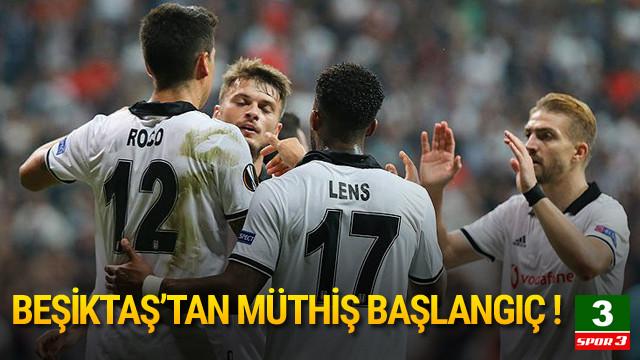 Beşiktaş - Sarpsborg: 3-1