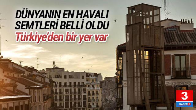 Dünyanın en havalı semtleri belli oldu ! Türkiye'den bir yer var