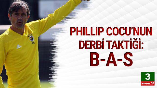 İşte Phillip Cocu'nun derbideki taktiği: B.A.S.