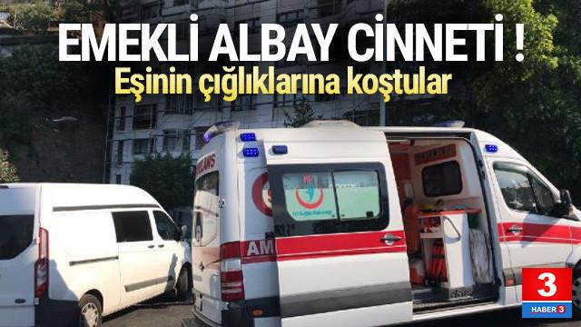 Emekli albay cinneti ! Eşi ve 2 çocuğunu vurdu