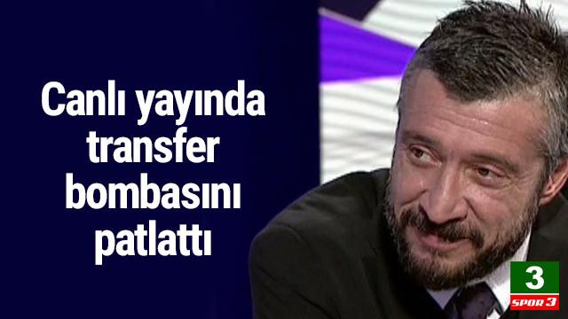 Tümer Metin canlı yayında sürpriz transferi açıkladı