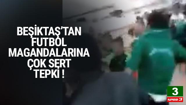 Beşiktaş'tan saldırıya kınama