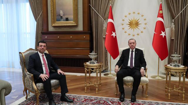 Erdoğan ve İmamoğlu'nun görüşmesi sonrası ilk açıklama