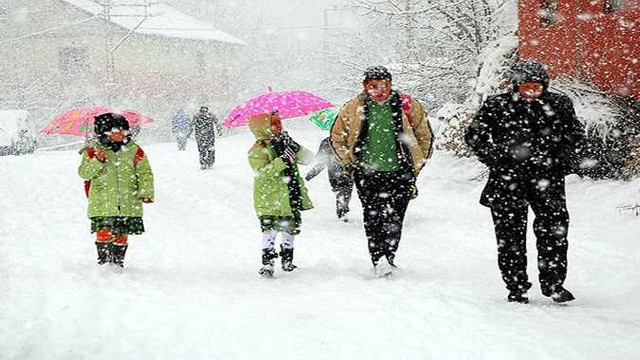 Eğitime kar engeli ! İşte 11 Ocak Cuma günü okulların tatil edildiği iller