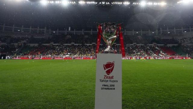 Ziraat Türkiye Kupası son 16 turu programı açıklandı