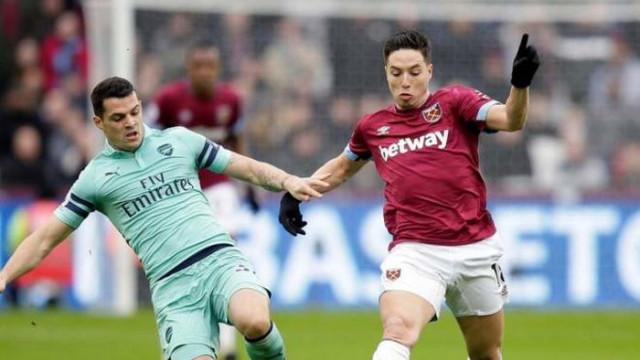 West Ham 1 - 0 Arsenal