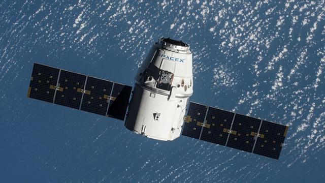 Uzay kargo aracı Dünya'ya geri döndü