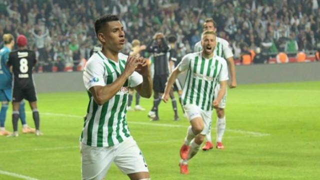 Konyaspor'da Paolo Hurtado 7 hafta yok