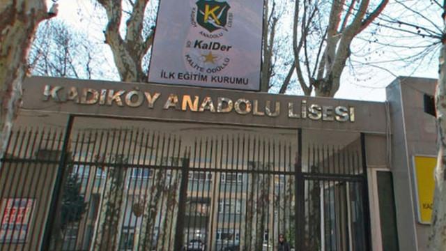 Yine Kadıköy Anadolu Lisesi yine skandal bir iddia !