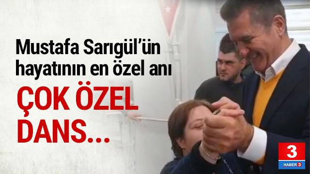 Mustafa Sarıgül'ün en özel dansı