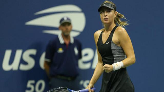 Maria Sharapova son şampiyon Wozniacki'yi eledi