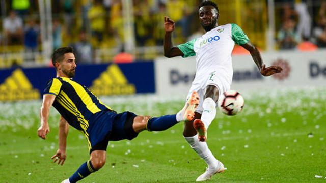 Bursaspor evinde Fenerbahçe'yi 10 maçtır yenemiyor