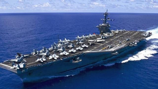 ABD'ye şok tehdit: ''ABD'nin uçak gemisini batırabiliriz''
