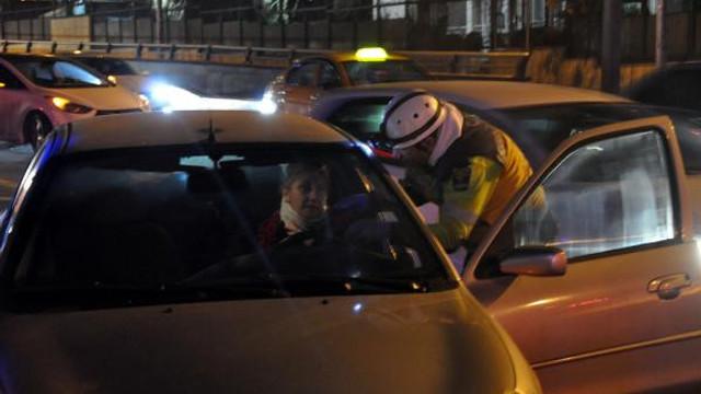Başkent'te zincirleme kaza ! 6 araç birbirine girdi