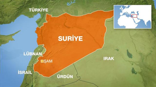 Suriye'nin başkentinde patlama: Yaralılar var