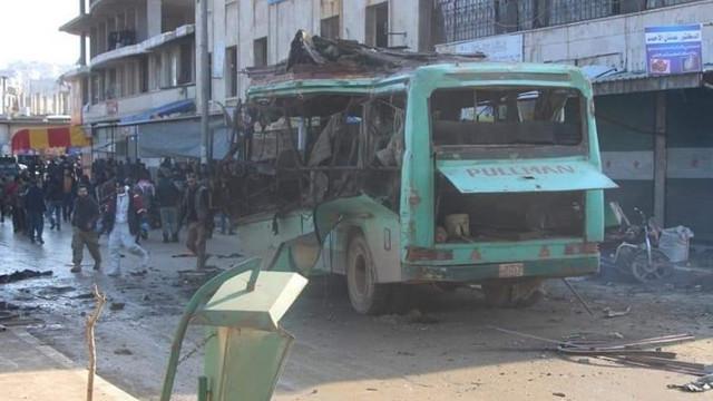 Harekatın birinci yılında Afrin'de saldırı: 2 ölü, 8 yaralı