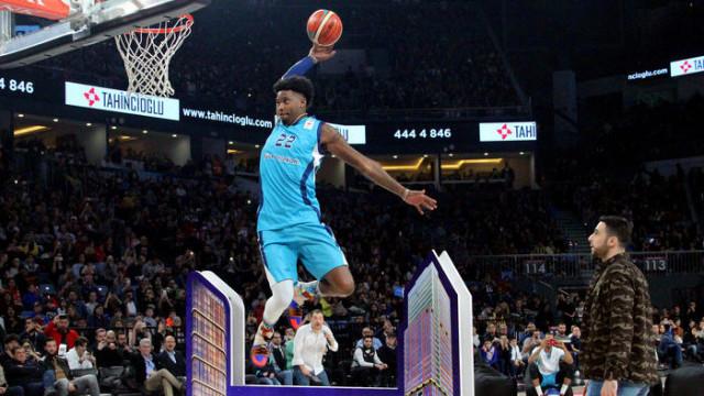 Tahincioğlu All-Star 2019'da yetenek yarışmalarının kazananları belli oldu