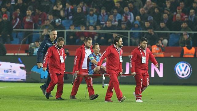 Joao Pereira'nın ayak tarak kemiğinin kırıldığı açıklandı