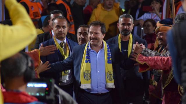Ankaragücü Başkanı Mehmet Yiğiner'den şartlı istifa